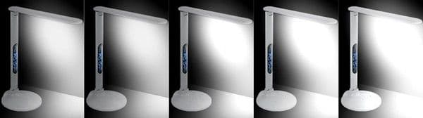 LED Desk Lamp With LCD Screen & USB Port